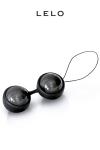 Luna Beads Noir - boules de Geisha : De subtiles vibrations qui intensifient les plaisirs... avec les Loveballs Luna Beads de Lelo, vivez vos fantasmes les plus fous !
