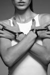 Bracelet bague noir - Maze
