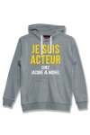 Sweat à capuche J&M Acteur gris