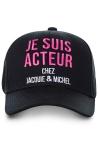 Casquette Jacquie et Michel Acteur