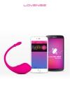 Lush Bullet Vibrator -  Lovense : Un oeuf vibrant haute qualité, contrôlé directement par votre smartphone.