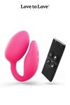 Oeuf vibrant Wonderlove : La marque Love to Love vous propose sa dernière innovation. Un oeuf vibrant à deux moteurs pour le clitoris et le point-G.