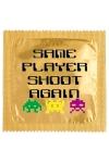 Préservatif humour - Same Player Shoot Again : Préservatif